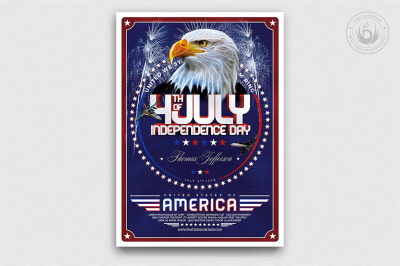 Independence Day Flyer Template V2