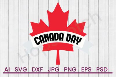 Canada Day - SVG File, DXF File