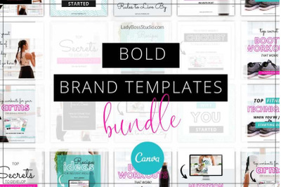 Canva Bold Branding Bundle