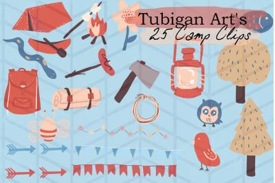 Tubigan Art's Camp Clips