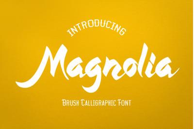 Magnolia - Script Brush Font