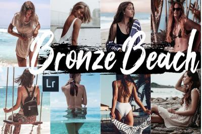 Neo Bronze Beach Theme Desktop Lightroom Presets
