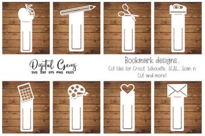 Bookmark, school teacher designs