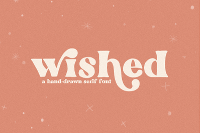 Wished - Hand-drawn Serif Font