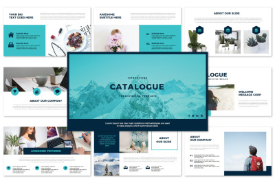 CATALOGUE - Pwerpoint Template