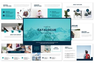 CATALOGUE - Google Slide Templates