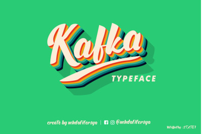 Kafka Typeface New Updates