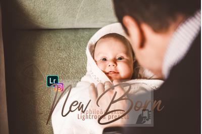 Download presets NewBorn Mobile & Desktop Lightroom