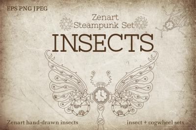 Zenart Steampunk Insects Set