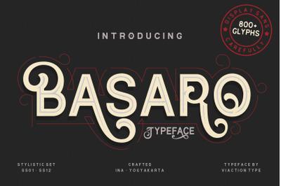 Basaro - 800+ Glyphs