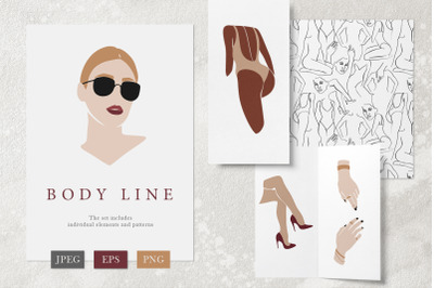 Body Line. Graphic collection