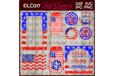 9 PATRIOTIC SVG DESIGNS