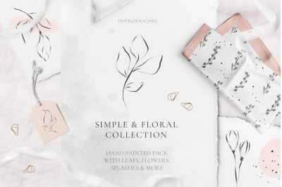 Simple & Floral Collection