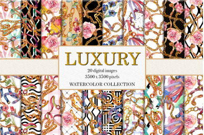 Luxury watercolor collection