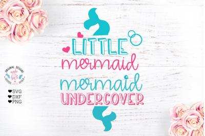 Little Mermaid - Mermaid Undercover 2 Summer Designs