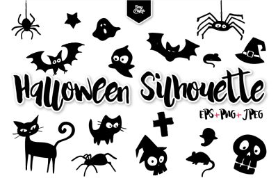 Halloween silhouette Collection - CA013