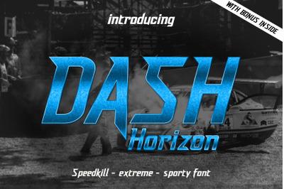 Dash Horizon - Sporty Font (+Bonus)