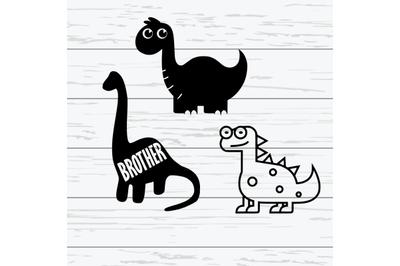 Baby Cute Dinosaur SVGs|Cute Dinosaur SVGs|Baby Cute Dinosaur SVGs