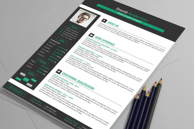 Resume / CV Template With Ms Word