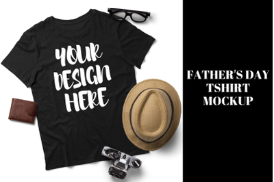 16th June Fathers Day T shirt Mockup
