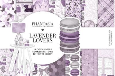 Lavender Digital Paper