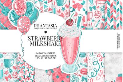 Pastel Pink Fashion Digital Paper Pack