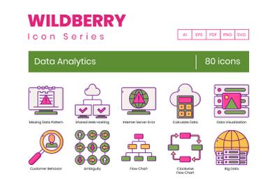 80 Data Analytics Icons