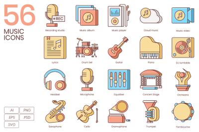 56 Music Icons