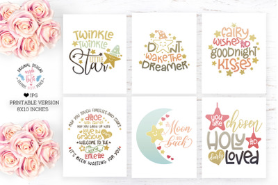 Nursery Decor Printable Bundle