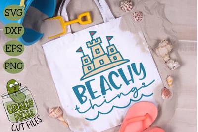 Beachy Things SVG for DIY Beach Bags & Pool Totes