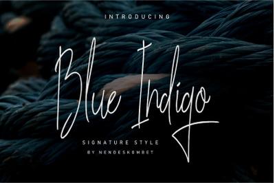 Blue Indigo - Signature style