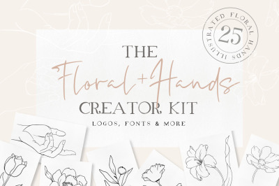 Florals + Hands Creator Kit