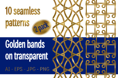10 golden bands patterns Pack 2