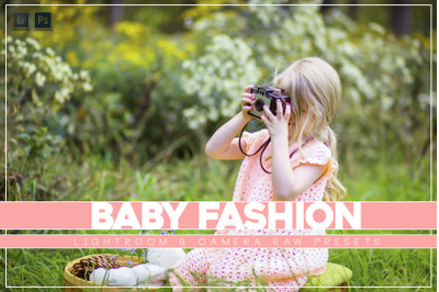 Baby Fashion Lr and ACR Presets