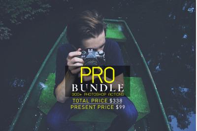 300+ Pro Bundle Photoshop Actions
