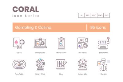 95 Gambling Casino Icons