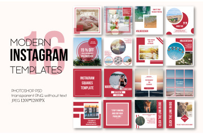 Instagram Post Templates Pack