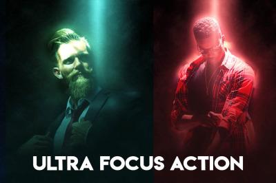 Ultra Focus Photoshop Action