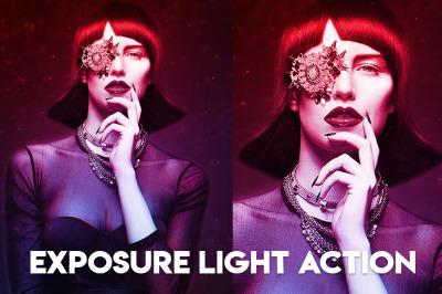 Exposure Light Photoshop Action