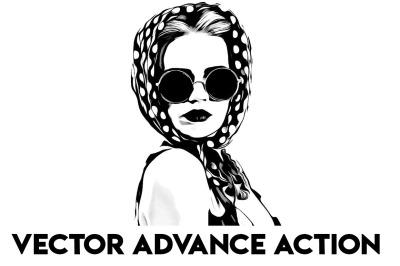 Vector Advance Photoshop Action