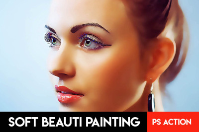 Soft Beauti Painting Photoshop Action