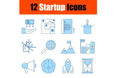Startup Icon Set