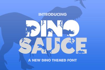 Dinosauce Font