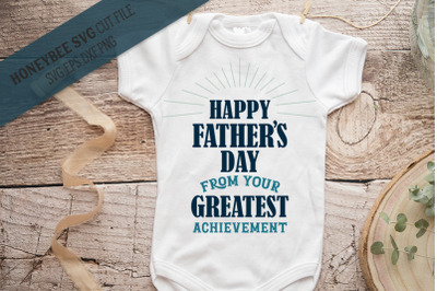 Happy Father's Day SVG Cut File