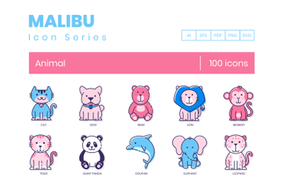 100 Animal Icons