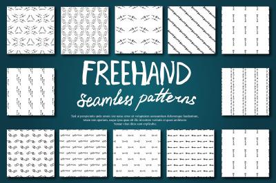 Boho Seamless Pattern Set