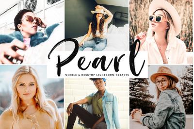 Pearl Mobile & Desktop Lightroom Presets