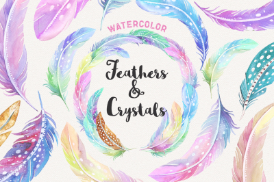 Cosmic Feathers & Crystals