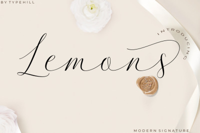 Lemons Font Trio