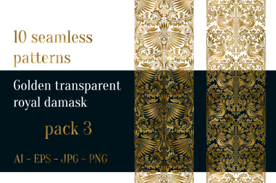10 royal damask patterns Pack 3